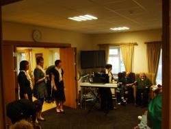 Omna Singers Visit Portumna Retirement Village