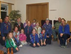 Portumna Beavers visit Portumna Retirement Village