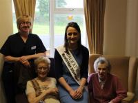 galway rose Kate Kennedy Visits Portumna